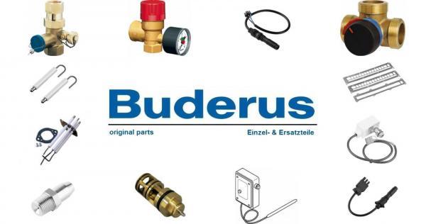 Buderus 80345000 Abgasanschluss Set1 150x2 ob gugr Blue-L