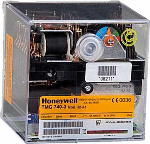 HONEYWELL Satronic Gasfeuerungsautomat TMG 740-3 Mod. 32