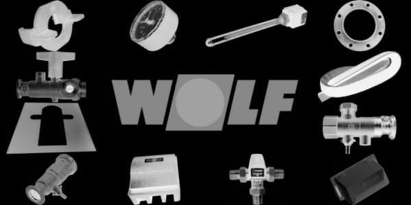 WOLF 1625072 Isolierung für Gussblockmantel