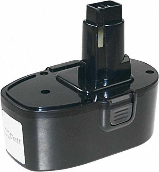 Werkzeugakku für DeWalt Ni-Cd 18V /2000mAh