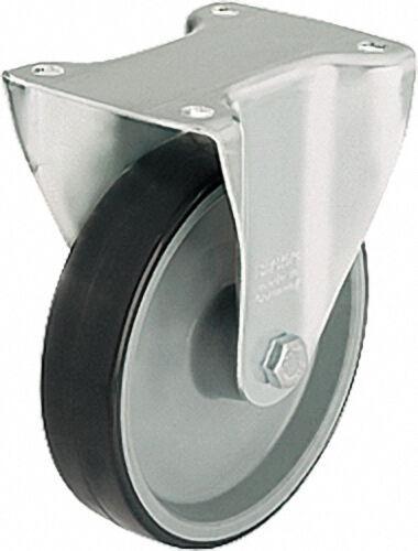 BLICKLE Bockrolle Polyurethan Palettengröße 100x85mm, Rad d=100mm,Tragfähigkeit 150kg