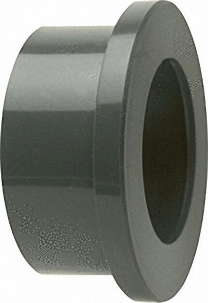 PVC-U - Klebefitting bundbuchse, 50mm, für Flach- oder Runddichtring