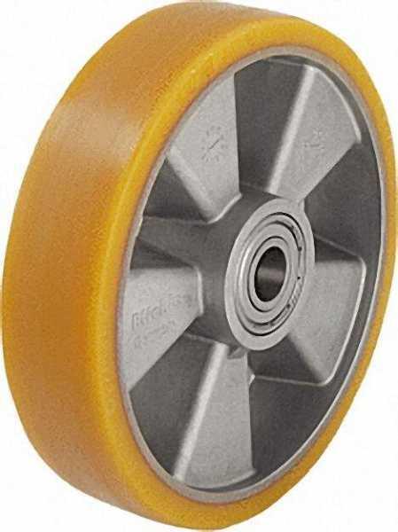 BLICKLE Schwerlastrad Polyurethan/Alu ALTH 100/15K, Tragfähigkeit 250 kg Rad D= 100mm, Achsloch 15mm