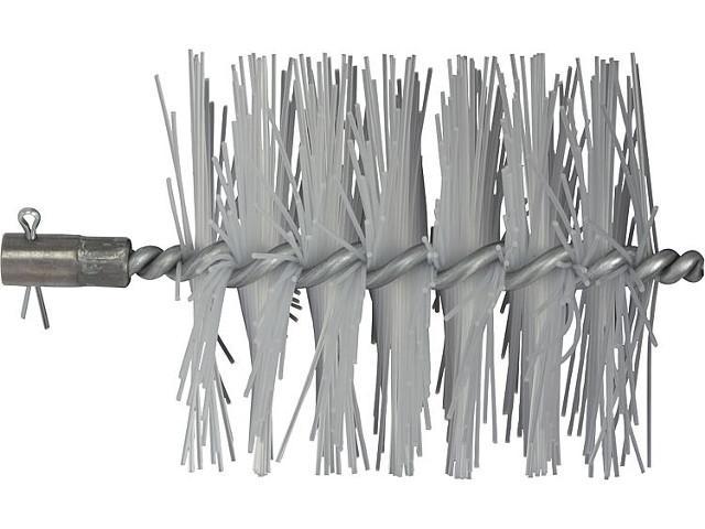 Heizkesselbürste mit IG M10 passend für Buderus Gußkessel Gußstahldraht