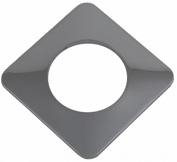 ELSTER Rosette quadratisch 150x150 mm, innen ø 92 mm