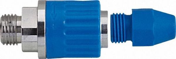 Regulierbare Luftspardüse Anschluss M12x1, 25a, Aluminium Länge 57mm, d=22mm