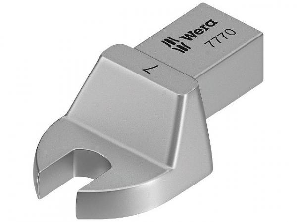 Einsteck-Maulschlüssel WERA Vierkant 9x12mm, Form A, SW 11