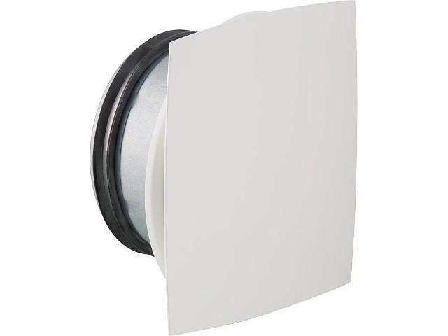 Tellerventil NW 125 Airy Bow für Zu- und Abluft Metall weiß