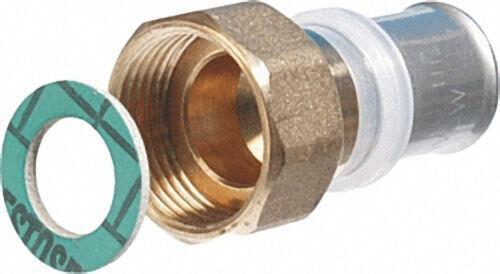 Pressfitting für MSVR Übergangsverschraubung, flachdichtend, 16x2mm - 3/8'' IG