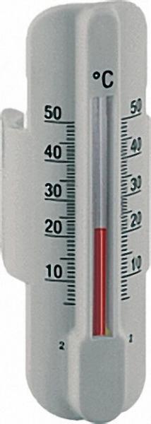 AFRISO Thermometer mit Schnellkupplung für Heizkreisrohre von 15-18mm Zubehör für Kunststoffverteile
