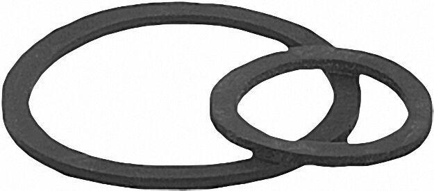 Gummi-gas-verschraubungs-dichtungen 3/8'' 19 x 27mm VPE: 100 Stück