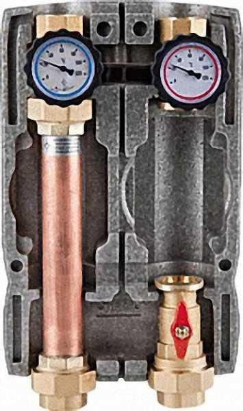 EVENES Easyflow Heizkreisset DN32(1 1/4''), ungemischt, ohne Pumpe