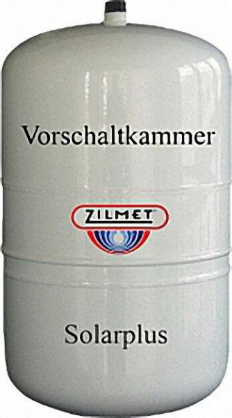 ZILMET Ausdehnungsgefäß Zilflex Solarplus safe 18 + 6