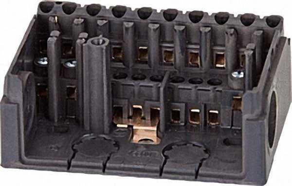 HONEYWELL Sockel Satronic S98-12-polig für Dxx/MMI/MMG ohne PG-Platte