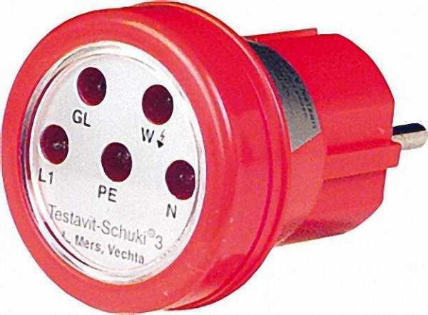 TESTBOY Testavit Schuki 3 Steckdosenprüfgerät