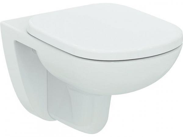 Wandtiefspül-WC Ideal Standard Eurovit Plus, ohne Spülrand weiß