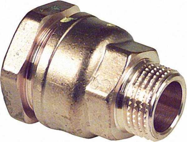 Anschlussverschraubung mit AG Typ 861 2''x63mm nicht für Gas geeignet