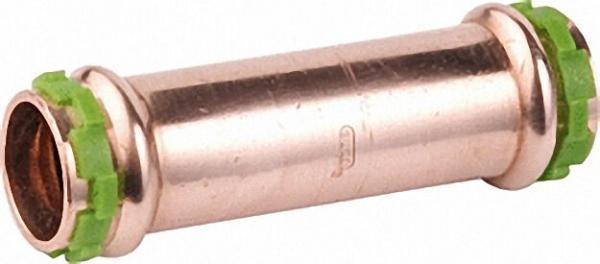 Kupfer Pressfitting Schiebe-Muffe D: 28mm P 5275 G, i/i