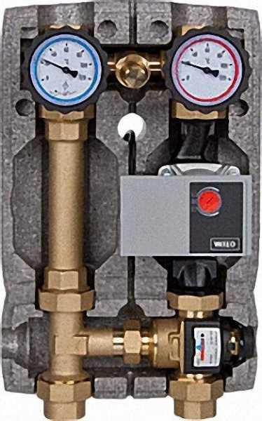 EVENES Festwertregelungsset für FBH mt Beipassventil, 20 - 43°, Yonos Para RS25/6 Pumpe