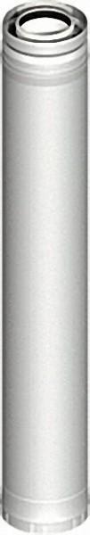 Kunststoff-Abgassystem Rohrelement 270mm DN 080/125