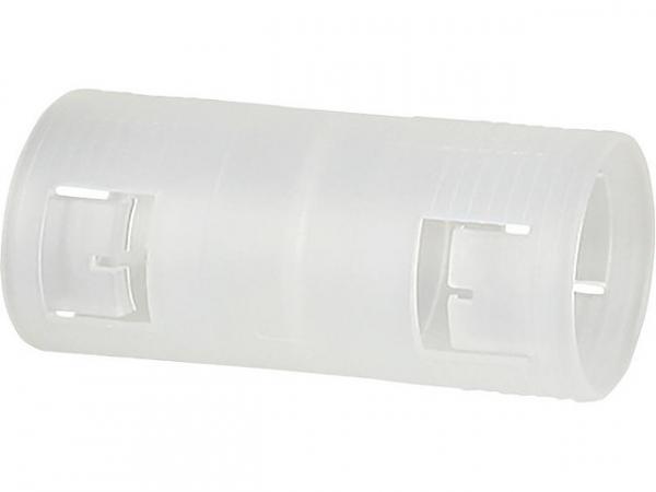 Rohrmuffe M25 transparent, VPE 25 Stück