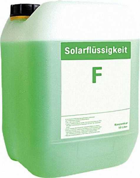 Solar-Wärmeträgerflüssigkeit unverdünnt/Korrosionss. 10 kg grün