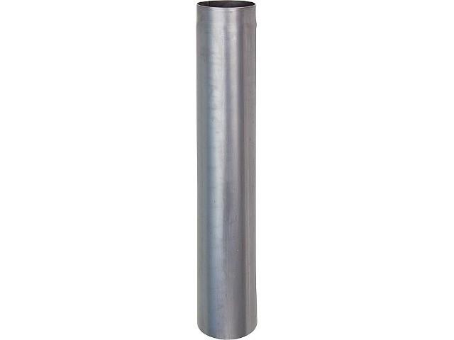 Rauchrohr DN 160,stahl blank Länge=250mm 2,0mm Wandstärke