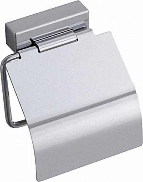 Papierrollenhalter Iris² mit Platine verchromt