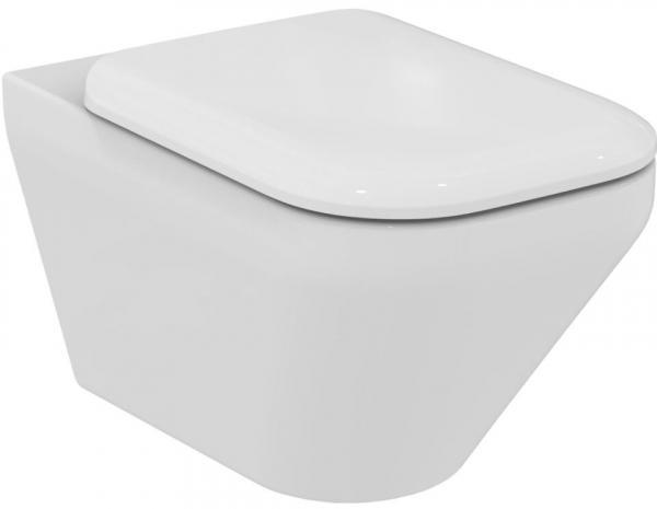 IDEAL STANDARD T325601 SoftMood Wand-WC ohne Spülrand, weiß