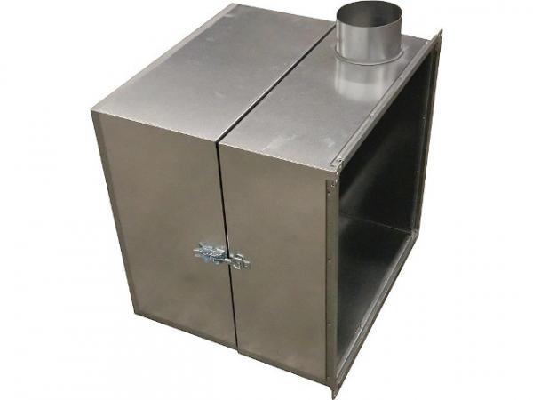 KROLL Brennerverkleidung zu Warmlufterzeuger 25S/40S/55S stationär