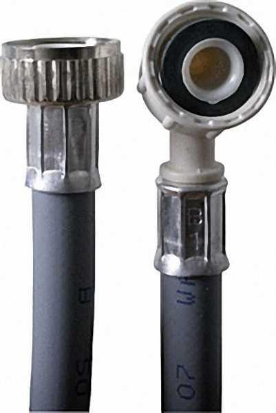Kunststoff-Nitril-Hochdruck Anschluss-Schlauch 3/8'' x 3000mm / 90 bar