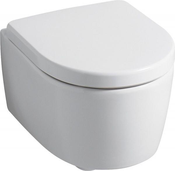 KERAMAG Wand-Tiefspül-WC I Con XS Rimfree, spülrandlos, 355 x490 x330 mm, weiß