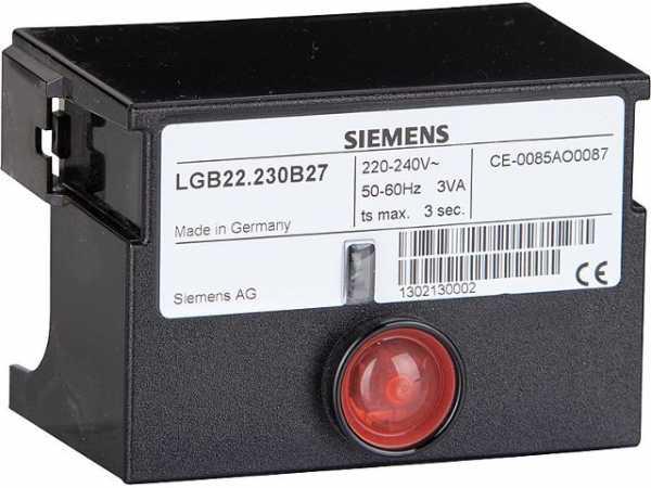 L&G Feuerungsautomat LGB 22,230 B27