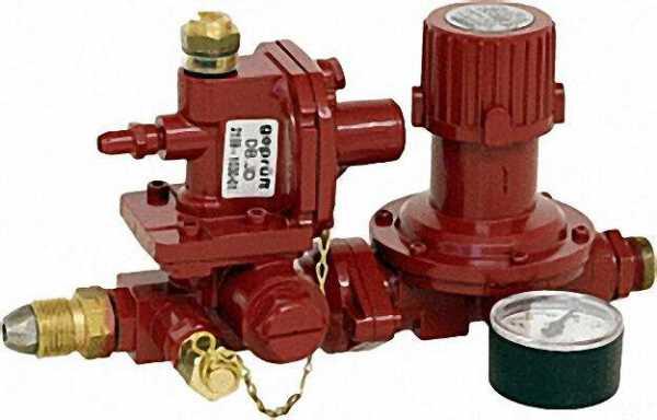 Vorstufenregler D 68 RVS 15 24kg/h 4bar mit Notversorgungsanschluss