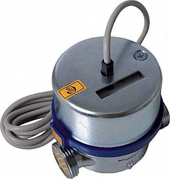 AP Wasserzähler Reedkontakt kalt Qn 2,5 m3/h=max 5m3/h 130mm be