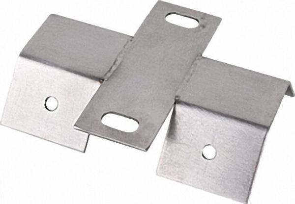 Dachhaken Universal Edelstahl Trapezschellenbefestigung, für PV, Röhren- und Flachkollektoren