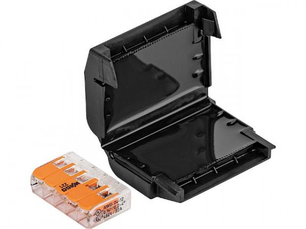 Gel Verbindungsmuffe, 1 Stück, Easy-Protect 215, 5x0,2-4mm², 1x Wago 221-415