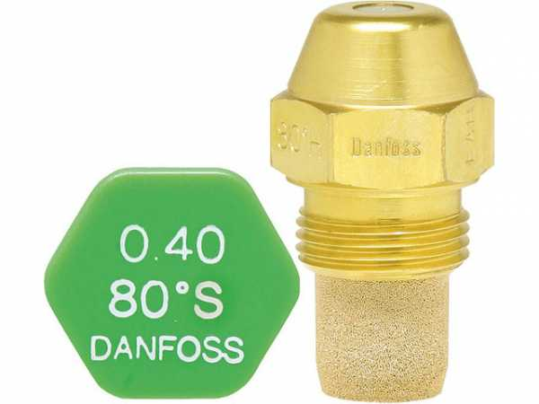 Ölbrennerdüse Danfoss 0,40 80°S LE, Typ V 030B0445