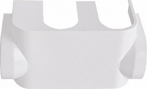 SIMPLEX Designverkleidung Eck chrom für VC-HB. Uniarmatur zu Art. 90 051 61 - 63
