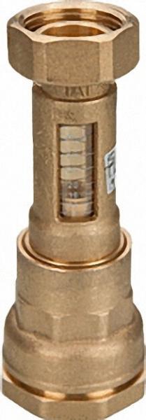 Durchflussmengenmesser DA 32mm x 1'' Überwurfmutter