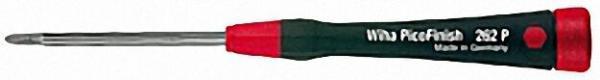 WIHA PicoFinish Pozidriv-Schraubendreher Griff mit Drehkappe und Schnell-Drehzone Typ 262P PZ1x60