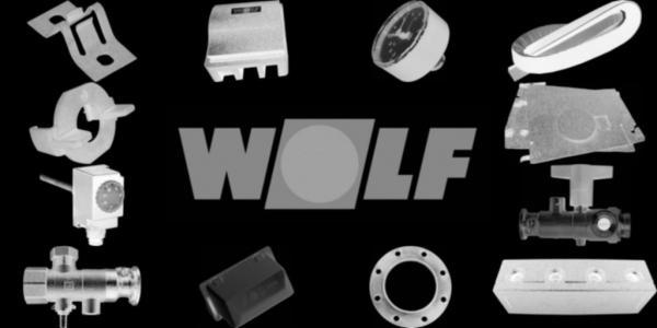 WOLF 8907161 Verkleidung oben rechts, Weiß