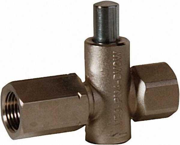 Manometer-Druckknopfhahn Anschluss 1/2'' mit Spannmuffe