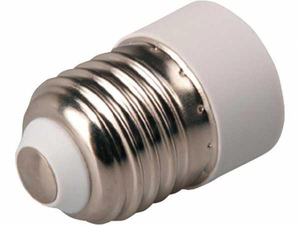 Leuchtenfassungs-Adapter E27 - E14