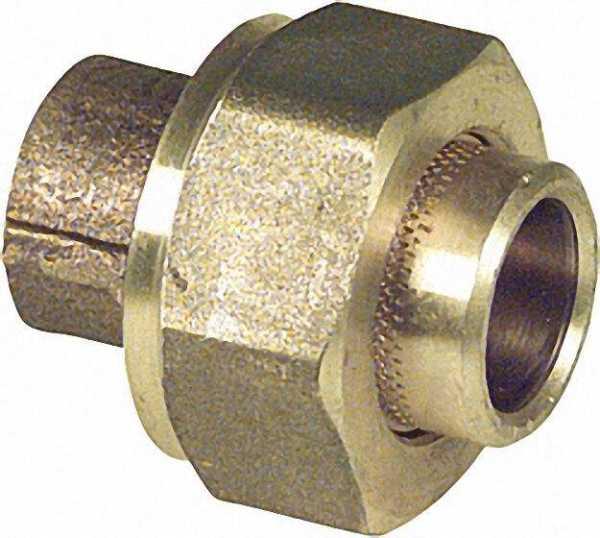Rotguß-Lötfitting 4340 Verschraubung konisch dichtend 22mm