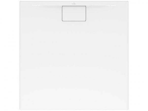 Duschwanne V&B Architektura MetalRim, 1000x1000x15mm, weiß alpin