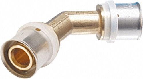 Pressfitting für MSVR Winkel 45°, 50x4,0mm - 50x4,0mm