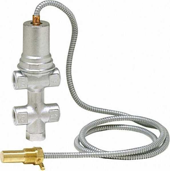 Thermische Ablaufsicherung 1/2'' mit zweifacher Fühlersicherung
