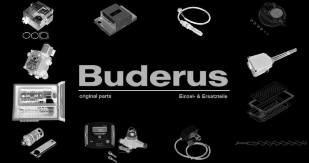 Buderus 63011505 Verschraubung 3/4x1/2 Wasserzähl everp
