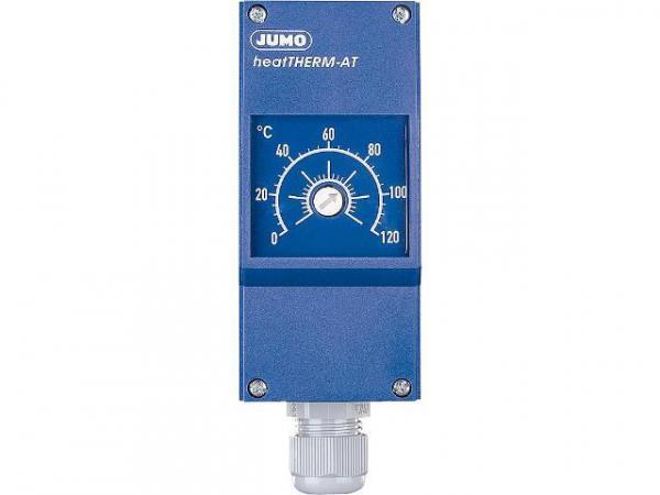 JUMO 60003187 Anlegethermostat Typ 603070/0002 0. . . 120°C mit ausziehb. Fernleitung